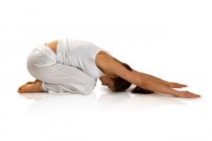 Mujer haciendo estiramientos