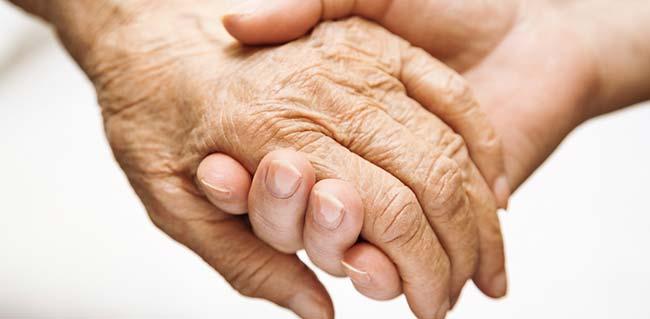 Paciente con Parkinson tratada con Bobath