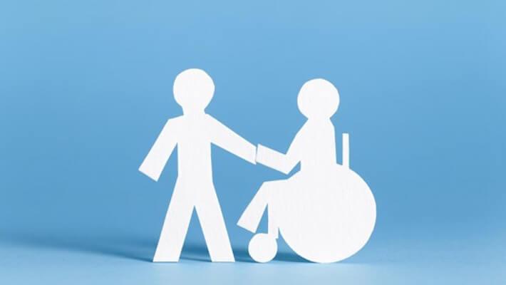 integración total de los discapacitados